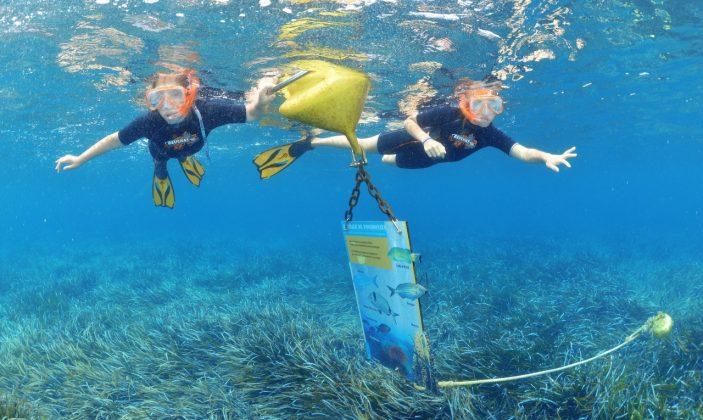 Sentier sous marin à la plage de la Palud – île de Port Cros – Hyères