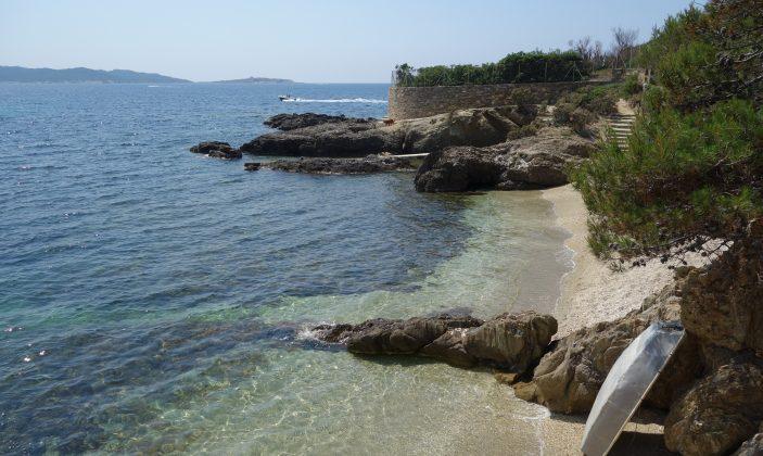 La plage du Pradeau – Hyeres la tour fondue