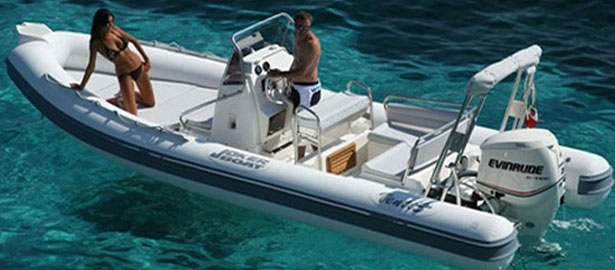 Location de bateau hyeres semi rigide