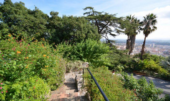 Jardin Castel Sainte-Claire