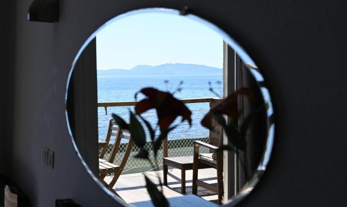 Chambre quadruple vue mer