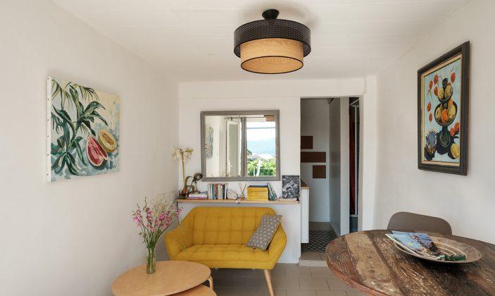 Location meublé gîte Absolument Levant La Maison Bleue Naturisme Ile