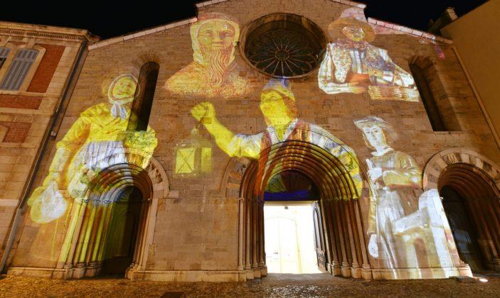 Projections d'images lumineuses – Saint Louis