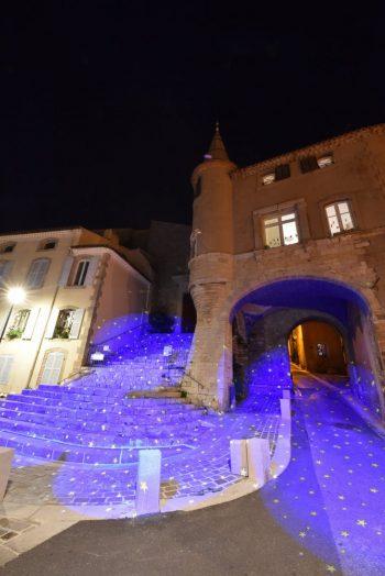 Projections d'images lumineuses – Saint Paul